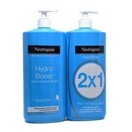 Neutrogena Hydro Boost Locion Corporal Hidratante Gel 2x750Ml