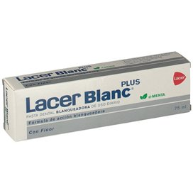 Lacerblanc Plus Pasta Dental Menta 75Ml