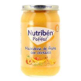 Nutriben Macedonia De Fruta Con Cereales Potito 235G