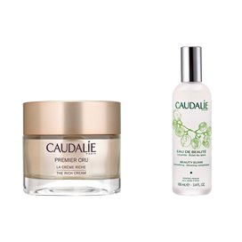 Caudalie Premier Cru The Rich Cream 50Ml + Beauty Water 100Ml