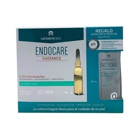 Endocare Radiance C Oil Free 30 Ampollas + Endocare Agua Micelar 100Ml