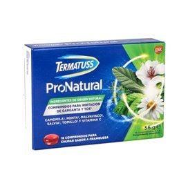 Termatuss Pronatural 16 Comprimidos Para Chupar