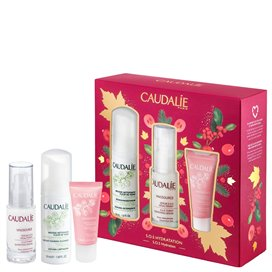Caudalie Vinosource Serum SOS 30Ml + Espuma Limpiadora 50Ml + Sorbete 15Ml